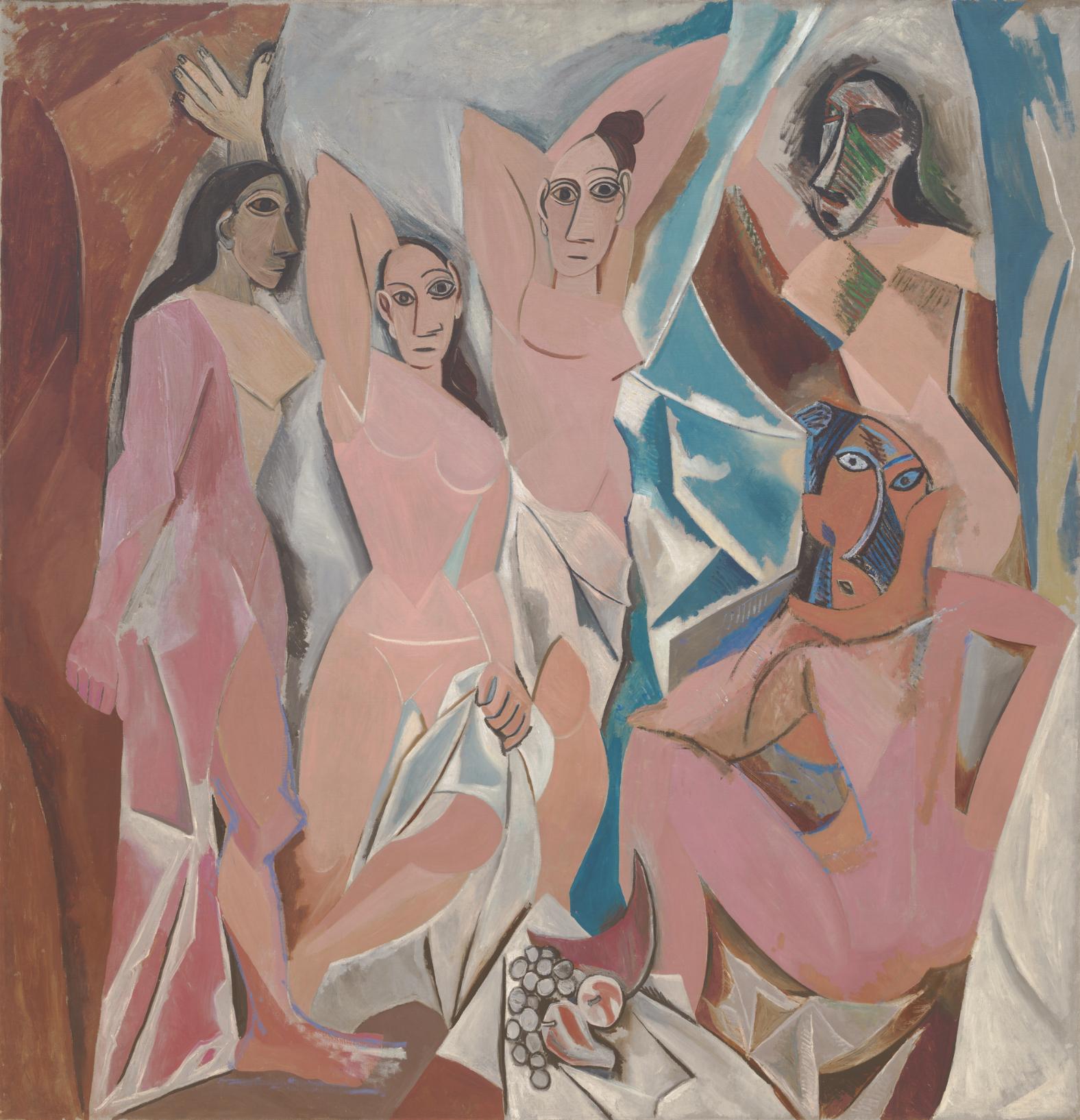 Picasso-LesDemoisellesdAvignon